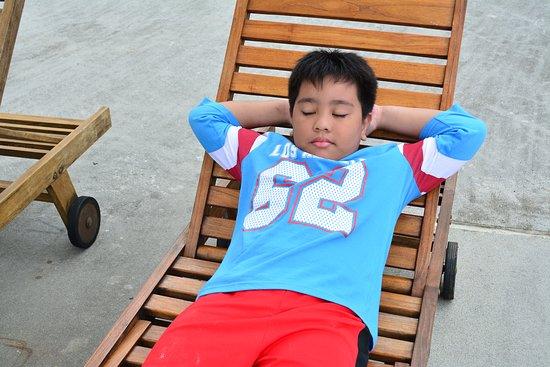 Malvar, الفلبين: Pool area