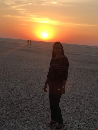 Sunset at dholavira