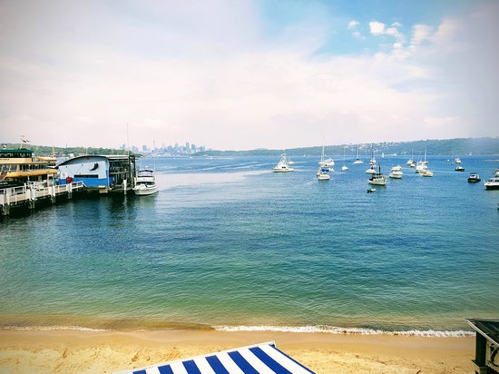 Watsons Bay view from the Watson's Bay Boutique Hotel