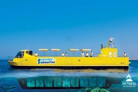 Viaje semi submarino en Sharm el...