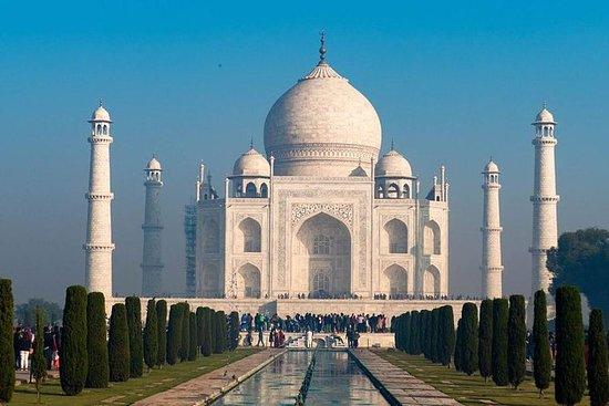 Sunrise Taj Mahal Tour de carro de...