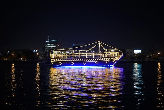 Dhow Cruise Dinner Dubai Creek med 3...