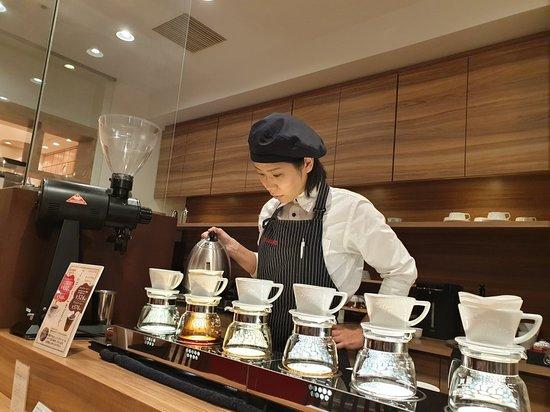 Tokado Coffee Hakata Riverain Mall Picture