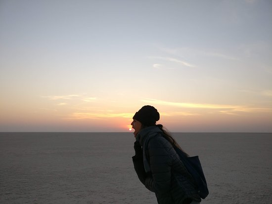Great Rann of Kutch: Sunrise at the Rann of kutch