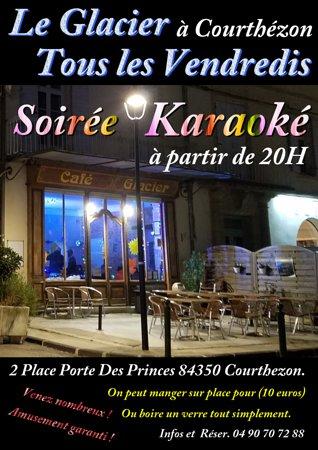 Courthezon, France: Nos soirées karaoké ou a thème.