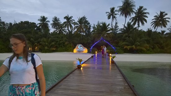 Canareef Resort Maldives: Peer to receiptions