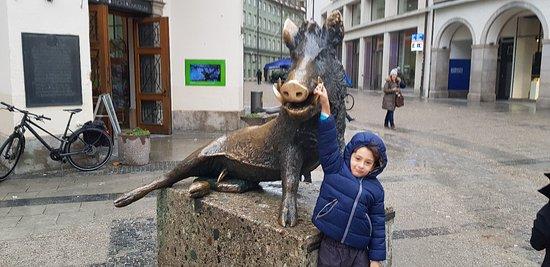Principal rua de Munique