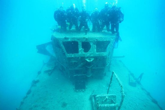 This vessel is the most visited diving location in Montenegro.