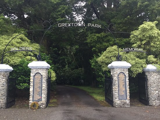 Greytown, Nuova Zelanda: The main entrance