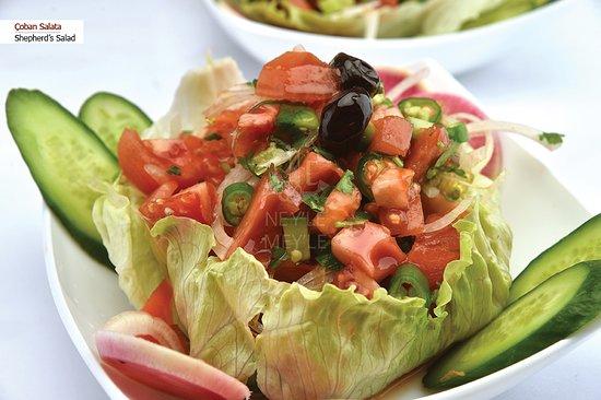 Çoban Salata / Shepherd's Salad