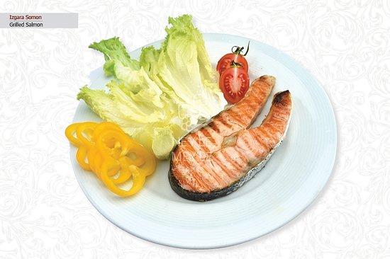 Izgara Somon / Grilled Salmon