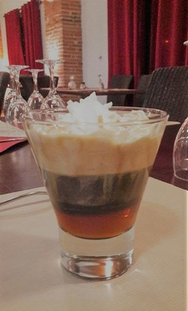 Irish coffee, 7€
