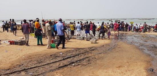 Kafountine, Senegal: Zona de pescadores