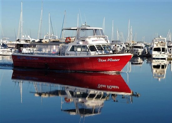 "Hillarys, Australia: The Boat ""BlueWater"" built to travel"