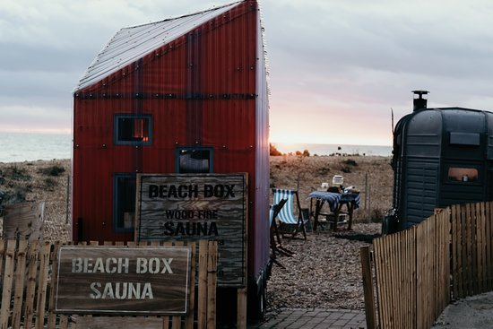 Beach Box Sauna Spa