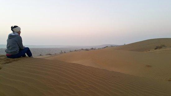 Die Milliarden Sterne Erfahrung in der Wüste: Peaceful place