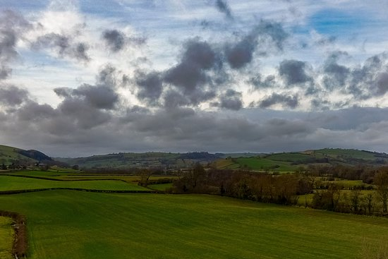 Clun, UK: The views