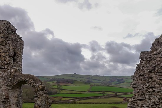 Clun, UK: From the tower