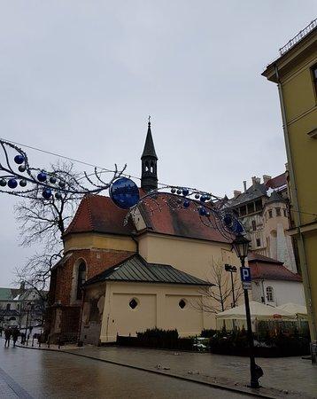 Beauty church along Grodkza Street