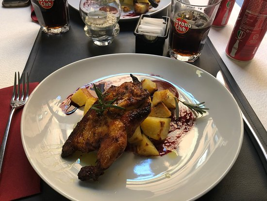 Chicken with potatoes