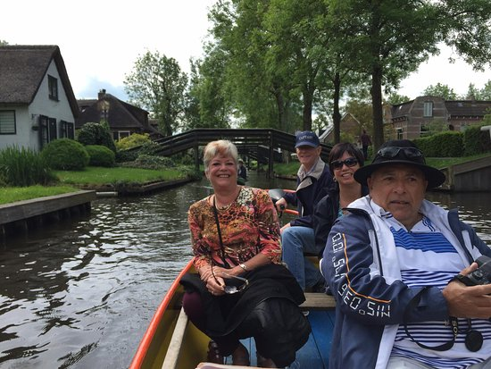 Be your own captain on the canal cruise.