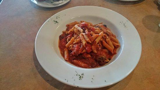 Sorento Restaurant: Vegetarian Penne Arrabiatta