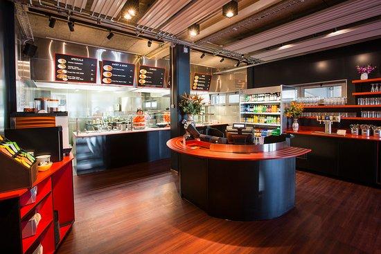 Oberwil, Switzerland: Restaurant Bereich