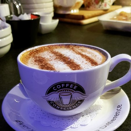 Blu Bar & Restaurant: Delicious Cappuccino #Coffee