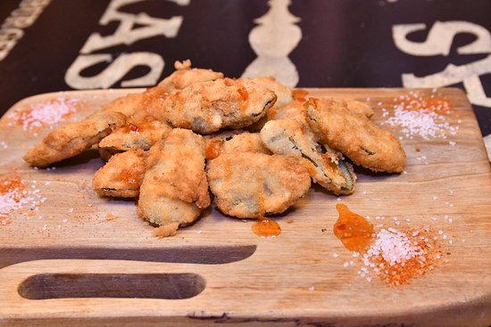Texas BBQ: Fried pickles