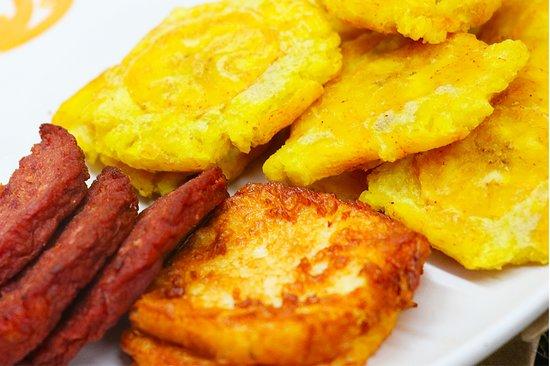 House of Antojitos: Tostones, Salami & Fried Cheese