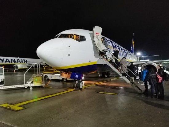 Ryanair: Foto gemaakt op Stansted