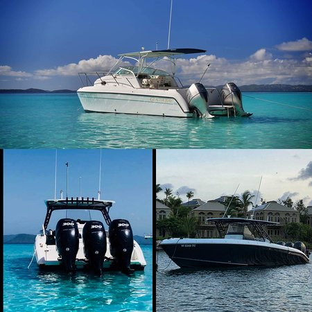 St. John: Choose your boat, then choose your destination!