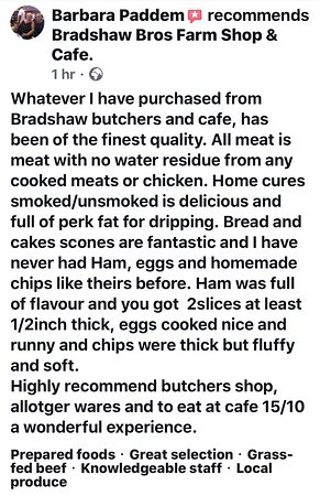 Burntwood, UK : Review from Our Facebook Page