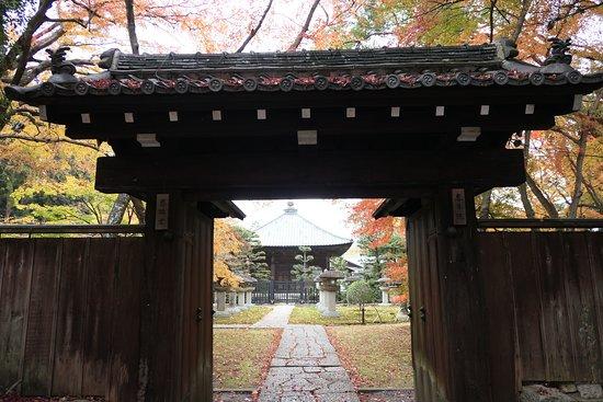 慈眼堂手前の門。恵日院とも言うんですかね。表札には慈眼堂と恵日院の表記がありました。