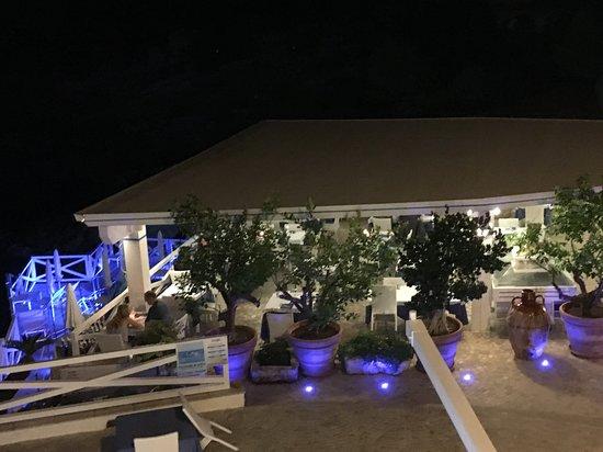 Марина-ди-Новаглие, Италия: Terrasse du restaurant