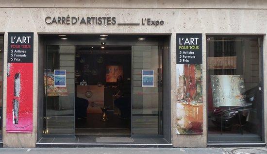 Carré d'Artistes l'Expo Paris