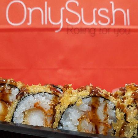 Only Sushi: futomaki de langostino