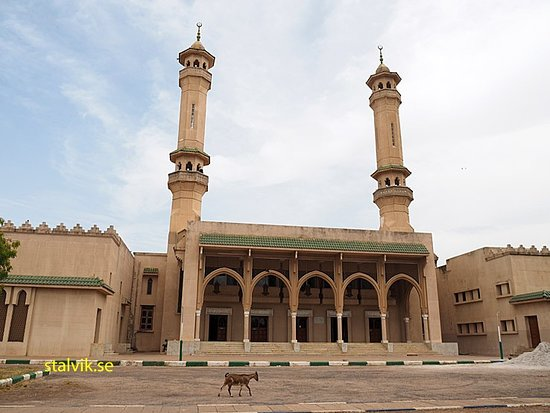 King Fahed mosque, Banjul. Gambia
