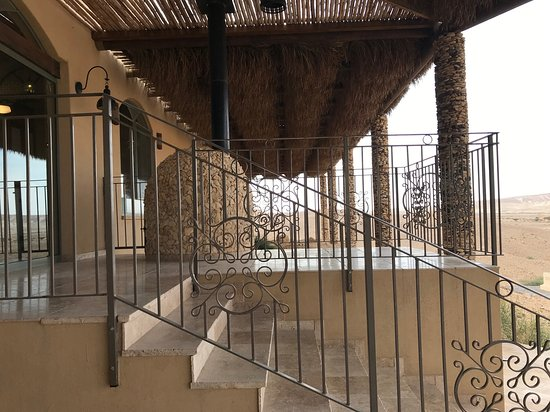 High end romance in the desert (this boutique hotel is called Eretz Arava in Hebrew)