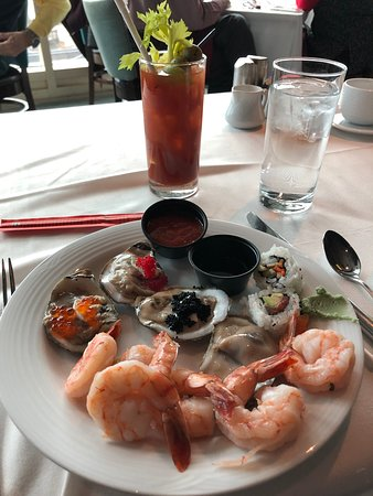 Nero's Italian Steakhouse: Nice seafood selection