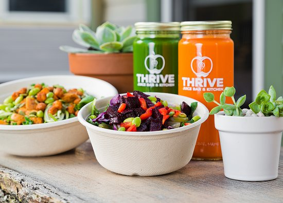 Thrive Juice Bar Kitchen Bar Harbor Restaurant Reviews
