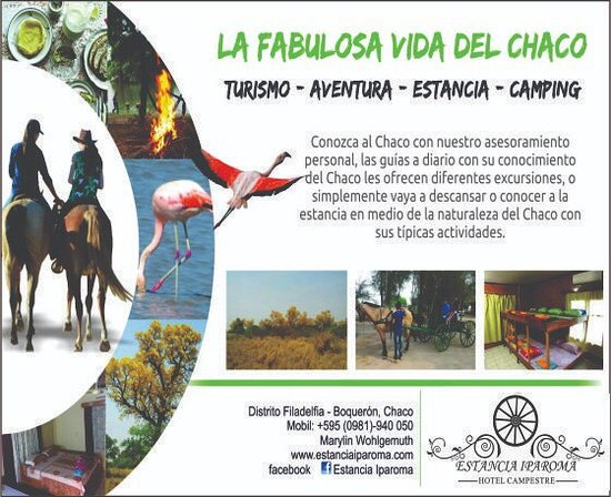Filadelfia, Paraguay: You can have a nice time at our ranch