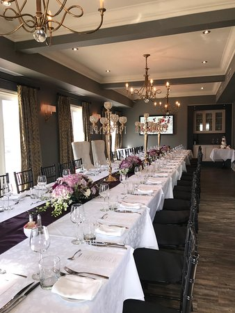Culinaria Restaurant & Events We offer exceptional food, beautiful ambiance, elite service!   events@culinaria.ca // 905-890-7330