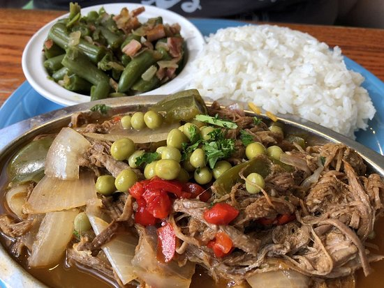 Ropa vieja. This was so tender and juicy. Full of flavor as well
