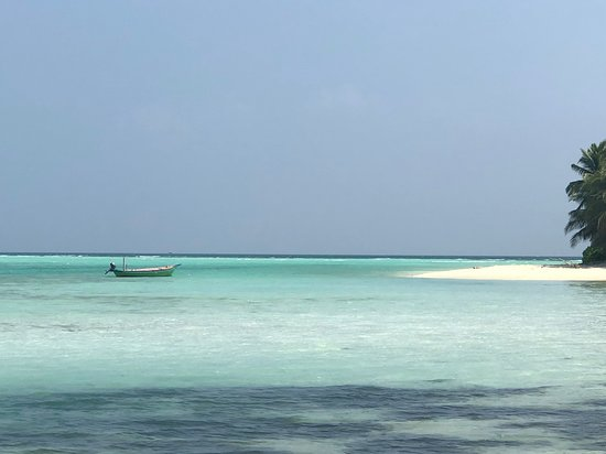 Mathiveri Island: Stingray beach