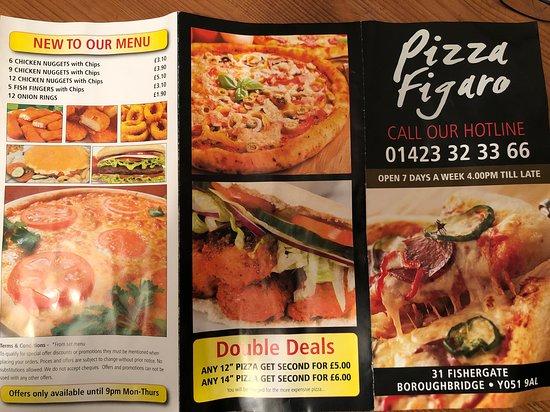 Pizza Figaro Boroughbridge Picture Of Pizza Figaro
