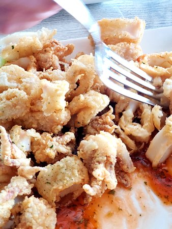 The Cowfish Sushi Burger Bar: Calamari