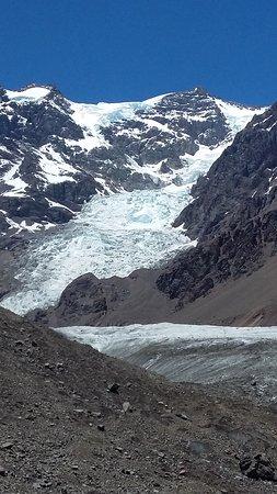 Glaciar el Juncal, los Andes, Chile
