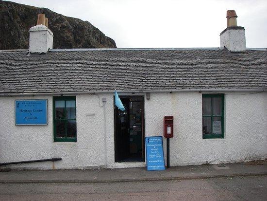 Oban, UK: The Heritage Centre occupies a quarryman's cottage in the village of Ellenabeich, Seil Island.
