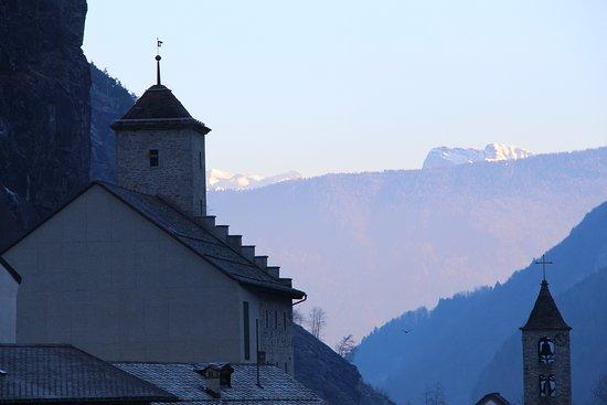 Gondo, Swiss: Blick nach Süden